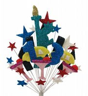 New York 13th birthday cake topper decoration - free postage
